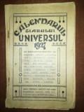 Calendarul ziarului universul 1927