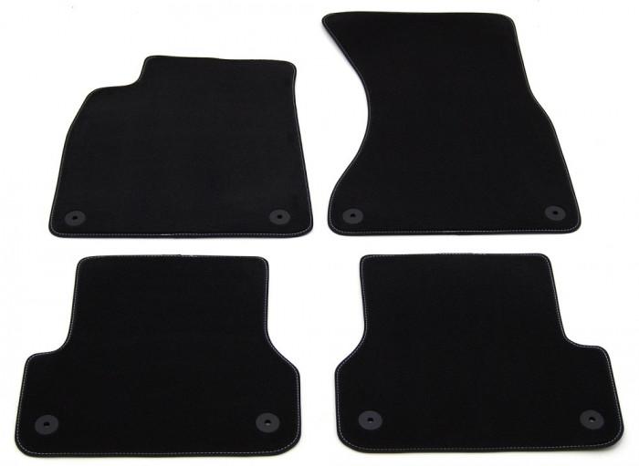 Covorase mocheta/velur Premium Audi A6 C7 4G (2011-2018)