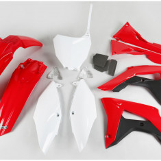 KIT Plastice Honda CRF 250R 2018-2021, CRF 450R 2017-2020 Culoare OEM rosu/alb Cod Produs: MX_NEW HOKIT123999