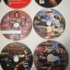 Lot 23 CD cu jocuri de la reviste de gaming din anii 2000