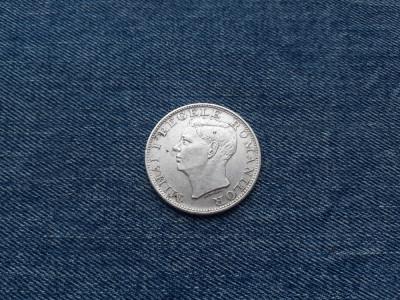 500 Lei 1944 Romania argint Regele Mihai I foto