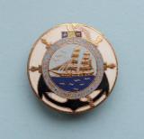 Insigna  -  GRUPAREA  DE  FILATELIE  TEMATICA  MARINA  -  CONSTANTA