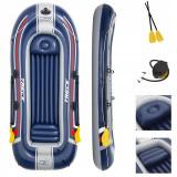 Barca gonflabila Bestway, vasle + pompa inclusa, TRECK X3