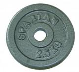 Greutati otel SPARTAN 2 x 2,5 kg/30mm