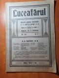 Luceafarul  sibiu, 1 mai 1913-poctorul g. petrascu,atelierul de tesaturi orastie