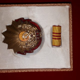 Medalie ordinul muncii cls III