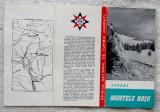 Muntele Rosu-Ciucas.Reclama turistica ONT Carpati.Cabane anii '60.Foarte rara.
