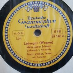 Wagner - Lohengrin(Deutsche Grammophon) - DISC PATEFON/GRAMOFON/Stare F.Buna, Alte tipuri suport muzica