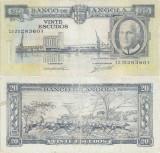1962 (10 VI), 20 Escudos (P-92) - Angola