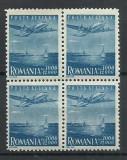 TSV* - RO 1947 LP 218 A 1 MAI-ZIUA MUNCII P.A. BLOC DE 4 MNH/** LUX