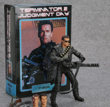Figurina Terminator 2 Arnold Schwarzenegger T-800 18 cm Judgment Day