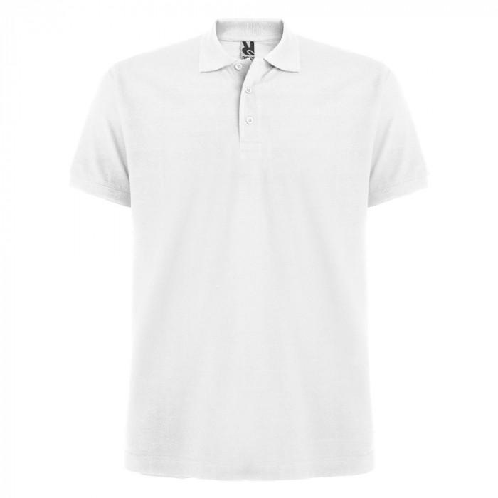 Tricou polo bartati Estrella Men Polo Shirt white PO6615WHITE