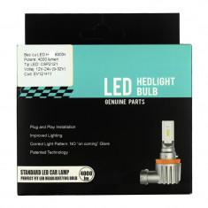 Set Bec P13 cu LED CSP2121 4000 lumen 6000k Voltaj: 12-24V COD: EV12