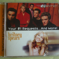 BRITNEY SPEARS / NSYNC - Your 1 Requests...And More - C D Original ca NOU