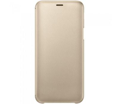 Husa Flip Wallet Samsung Galaxy J6 (2018) Gold foto