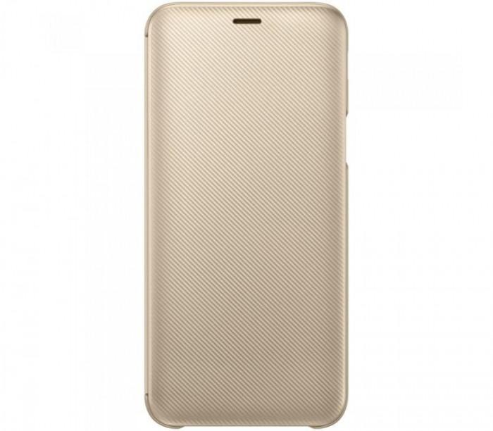 Husa Flip Wallet Samsung Galaxy J6 (2018) Gold