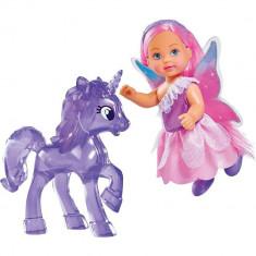 Papusa Simba Evi Love Unicor Friend 12 cm cu unicorn