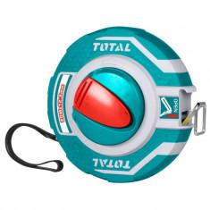 Ruleta 20 m, capac cauciuc si maner integrat, eficienta 3:1, YTGT-11206