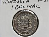 Venezuela 1 Bolivar 1960 - Argint (65)