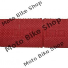 MBS Mansoane cross/enduro Domino rosii/ lungime-118mm, Cod Produs: 184160480RM