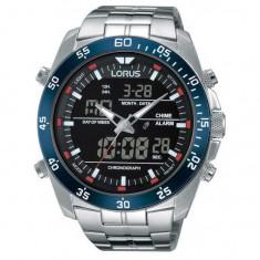 Ceas barbatesc Lorus RW623AX9 Analog-Digital Alarm Cronograf 46mm 10ATM