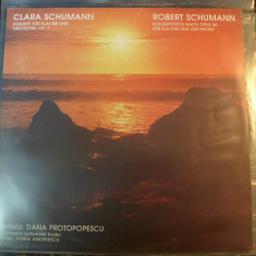 Clara Schumann / Robert Schumann - Solistă: Dana Protopopescu – DG-ECE 04244, VINIL