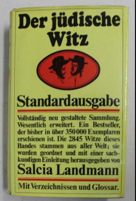 Der judische Witz : Soziologie u. Sammlung / Salcia Landmann foto