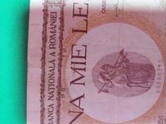 Bancnote romanesti de vanzare 1000lei 1940 supratipar mega raritate foto
