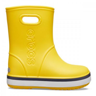 Cizme Copii de ploaie Crocs Kids' Crocband Rain Boot foto
