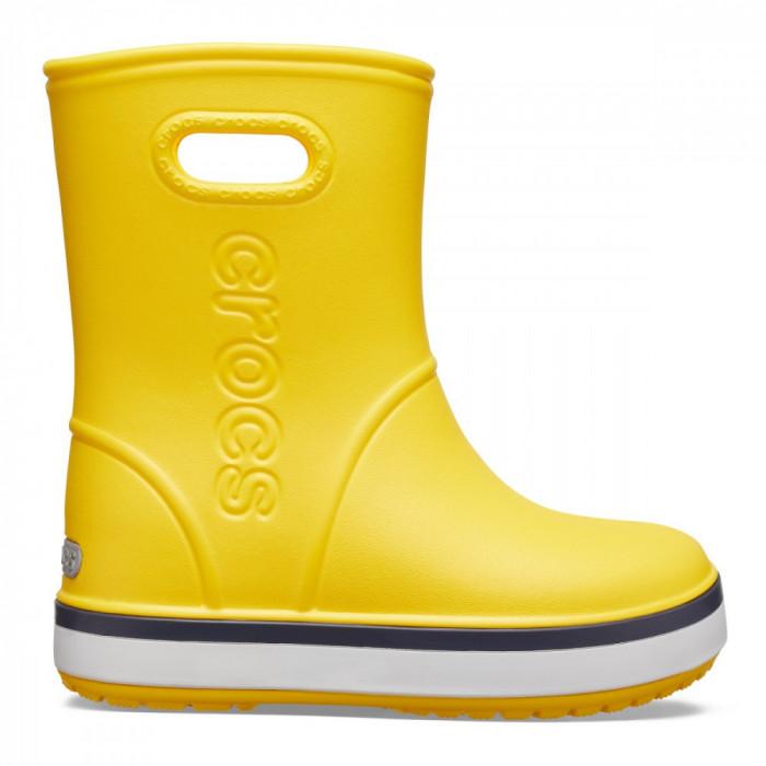 Cizme Copii de ploaie Crocs Kids' Crocband Rain Boot