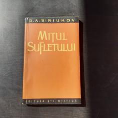 MITUL SUFLETULUI - D.A. BIRIUKOV
