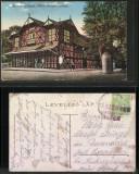 Sighetu Marmatiei 1916 - Teatru, ilustrata circulata, cenzurata