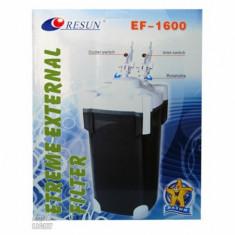 Filtru extern acvariu, UV 11 W, EF1600U, 24x24x46,5 cm, Resun