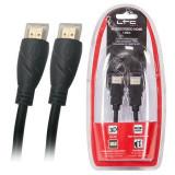 Cumpara ieftin Cablu HDMI tata - HDMI tata, lungime 1.8 m, 1080p si 3D, Negru, Oem