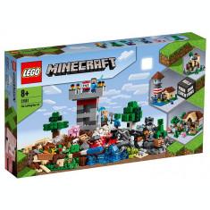 LEGO Minecraft - Cutie de crafting 3.0 (21161)