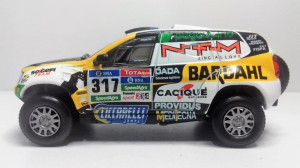 Macheta IXO - RENAULT DUSTER 1/43 RALLY DAKAR 2016 #317