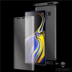 Folie Alien Surface HD, Samsung GALAXY NOTE 9 fata, spate, laterale + Alien...