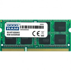 Memorie laptop Goodram 8GB (1x8GB) DDR3 1600MHz CL11 1.5V HP