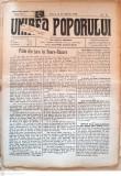 Ziarul UNIREA POPORULUI, editii 1933-1937