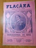 flacara 25 iulie 1915-poezie octavian goga,festival la arenele romane,g.enescu