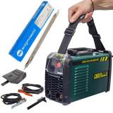 Set Aparat Sudura 250A Brillo+ Pachet Electrozi Sudura ,Accesorii,Invertor