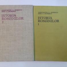 Istoria romanilor vol I-II-Const. Giurescu,Dinu Giurescu