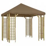 Pavilion, gri taupe, 3 x 3 m (310032+46619)