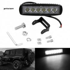 Proiector led Off Road de 15cm si 18W pentru Suv, ATV, Tractor, Jeep