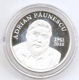 Moldova 50 Lei 2013 (Adrian Paunescu) Argint 13 g/999, 28 mm KM-105 UNC !!!, Europa