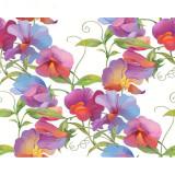 Kit pictura pe numere cu flori, DZ2011