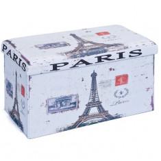 Taburet Cutie Depozitare Paris