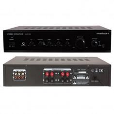 Amplificator stereo Madison, 2 x 80 W RMS, negru