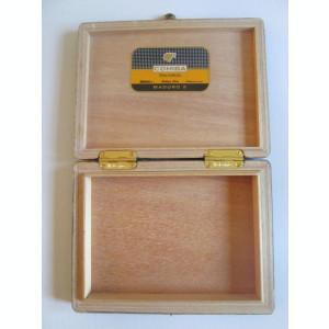 Cutie goala lemn trabucuri cubaneze Cohiba Maduro 5 Secretos 10