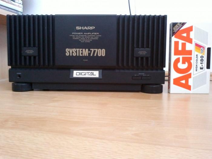 Amplificator / Putere SHARP 7700